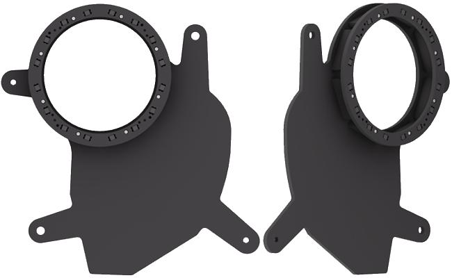 Molded speaker enclosures